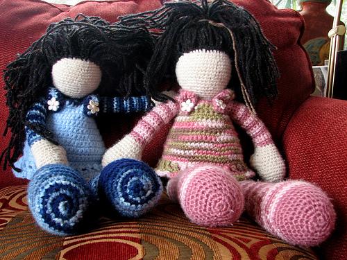 かぎ針編み人形