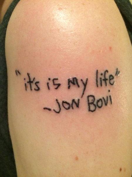 ボン・ジョヴィのタトゥー01