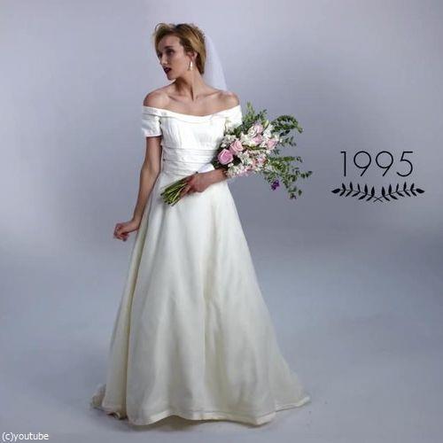 ウェディングドレスの変化09