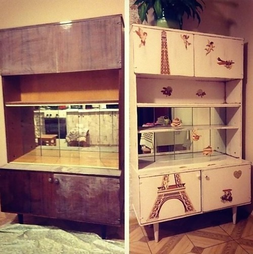 旧ソ連の家具をリメイク05