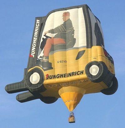奇抜なデザインをした世界のおもしろ気球10