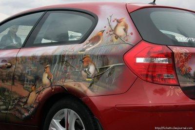01アートな自動車