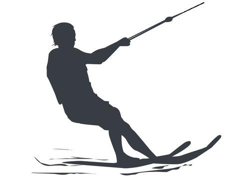 91歳のウォータースキーをするうちのおじいちゃん00