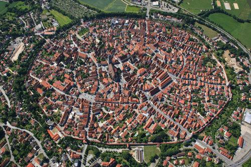 上空から見た都市06