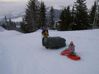 雪山の頂でお風呂12