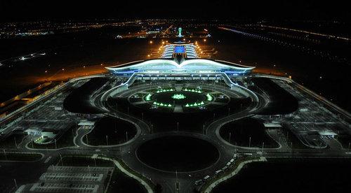 トルクメニスタンのファルコン空港06