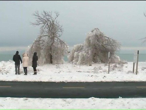 シカゴに大寒波02