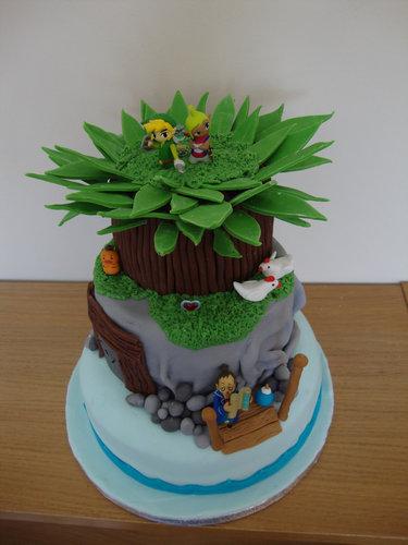 11おもしろいキャラクターケーキ