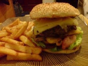 ハンバーガーの量02