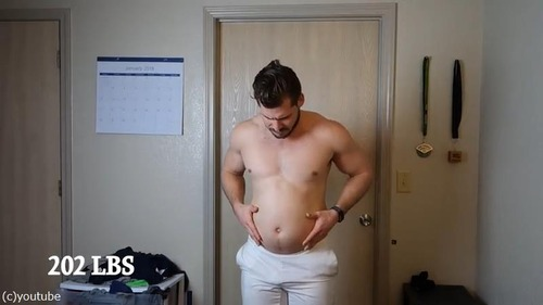 男性の3か月のダイエット動画01