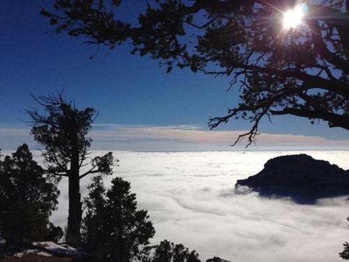 グランドキャニオンの雲海03