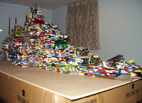 荷造り前にレゴセットを撮影04