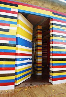 300万個のレゴで家を建設05