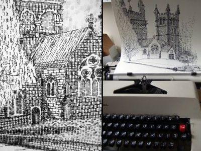 タイプライター・アート00