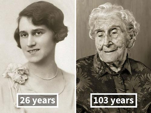 100歳越えの人の若い頃09