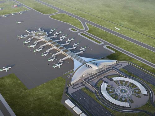 トルクメニスタンのファルコン空港03