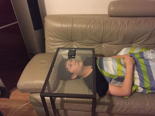 IKEAテーブルの新しい使い方01