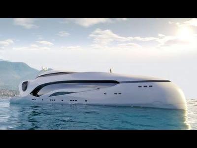 未来的なヨット00