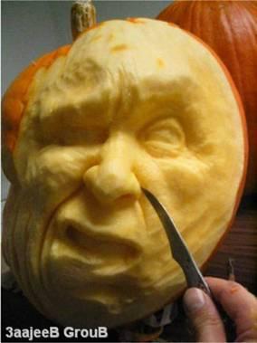 かぼちゃ彫刻06
