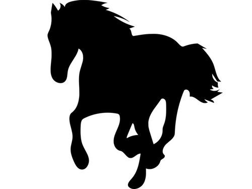 美しい4頭の馬00