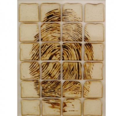 パンを焼いて描く「トーストアート」03