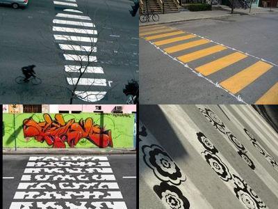 アートな横断歩道TOP