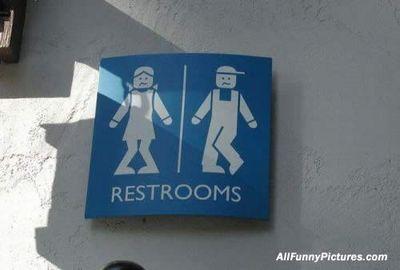 笑えるトイレ表示20