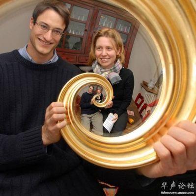 合わせ鏡のような不思議な写真05
