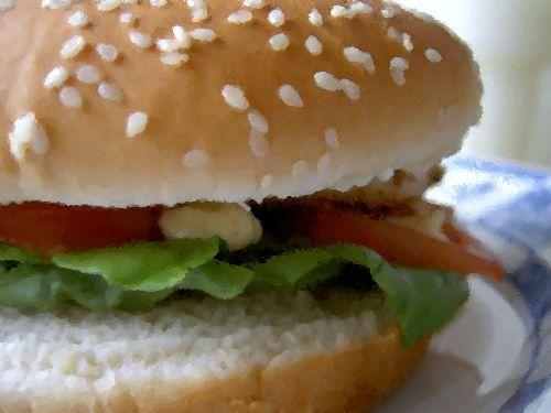 高級ハンバーガー00