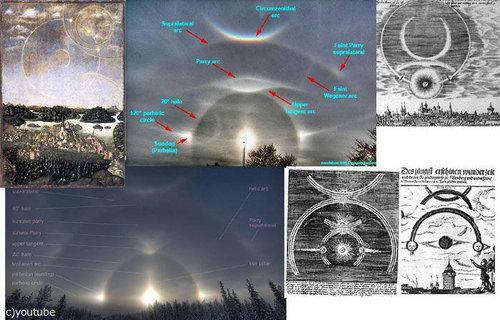 1561年の上空で謎の飛行物体が戦った記録09