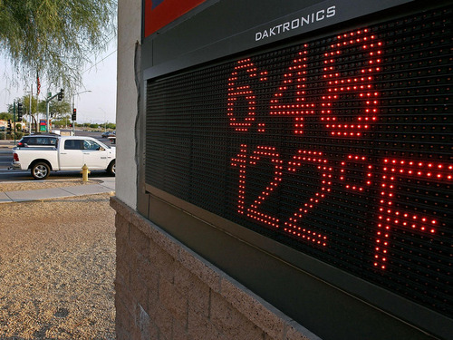 アリゾナ州の地獄の暑さ00