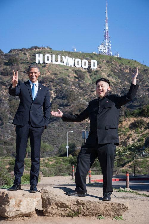 オバマと金正恩のそっくりさん04