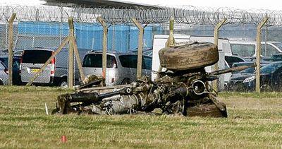 ヒースロー空港で緊急着陸03