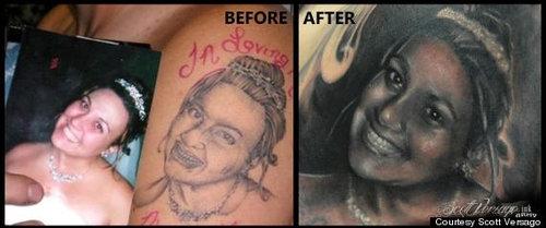 失敗タトゥーのやり直し04