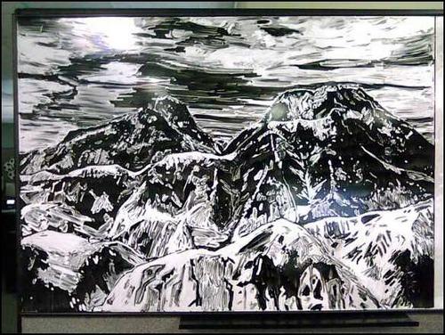 ホワイトボード・アート01