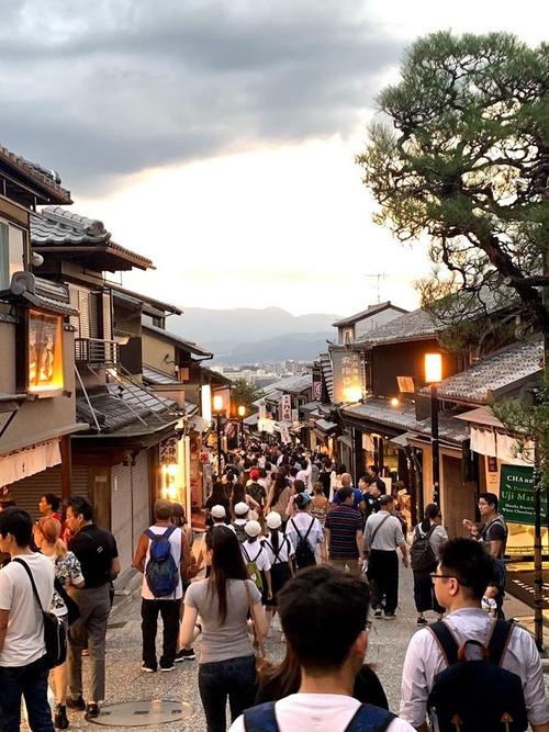 早朝5時に起きて撮った京都の写真