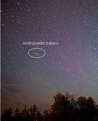 アンドロメダ銀河が明るかったら03
