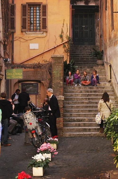 ローマのレストラン04