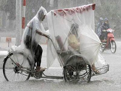 そこまで雨の中無理するなら歩くか車に乗ろうよ