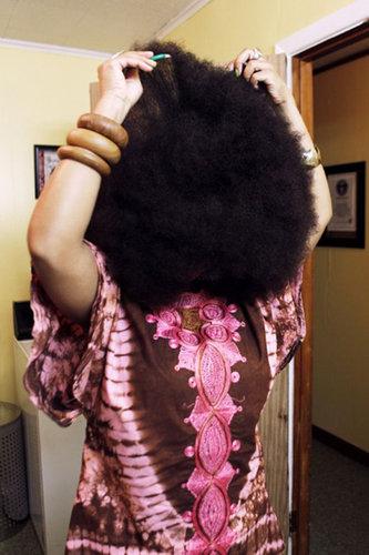 世界一のアフロ女性07