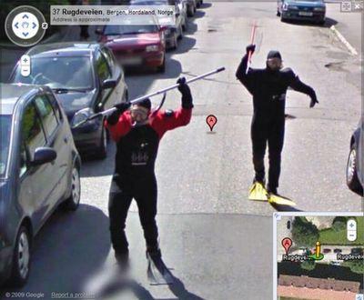ノルウェー人のGoogleストリートビュー04