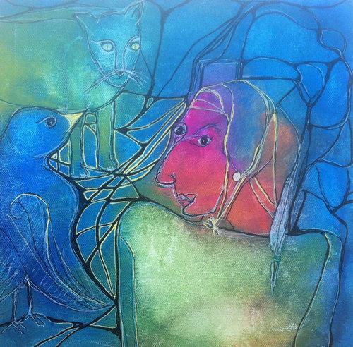 パーキンソン病の母が描いた絵06