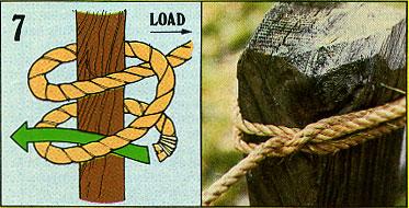 ロープの結び方07