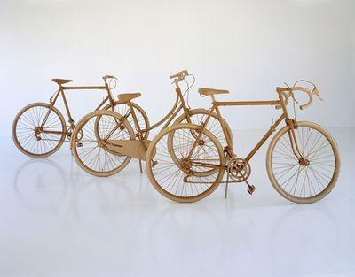ダンボールアート-03自転車