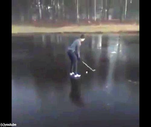 氷の上でゴルフをやるべきではない理由01