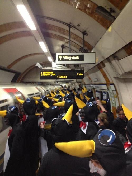 ロンドンの地下鉄01