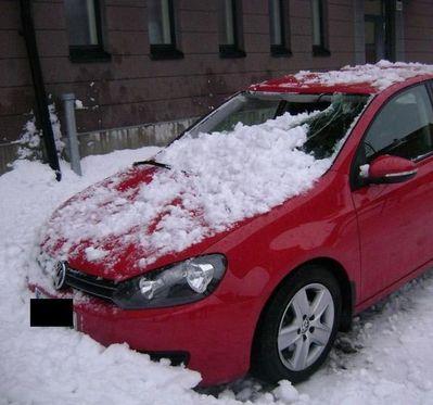 大失敗している雪かき02