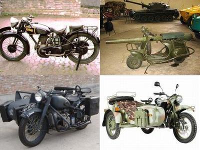 第二次世界大戦のバイク