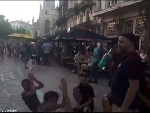 クロアチアの家族が今ベルギーの街を歩くと…02