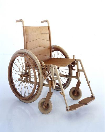 ダンボールアート-05車椅子